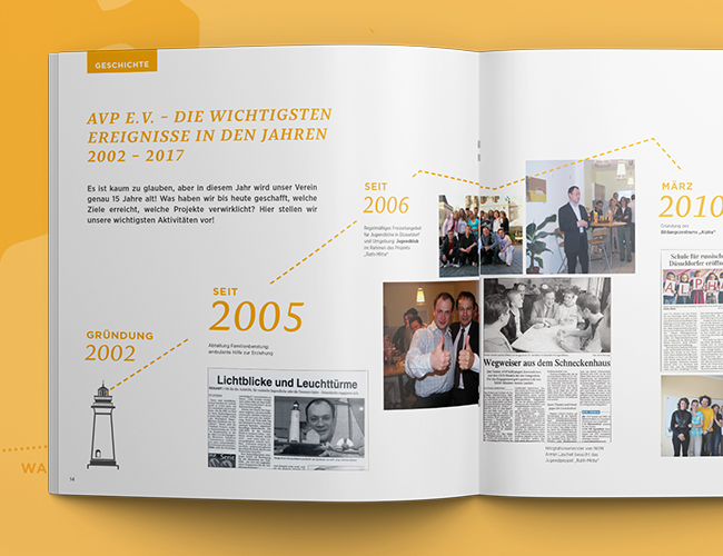 15 YEARS AVP _  FESTIVE BROCHURE